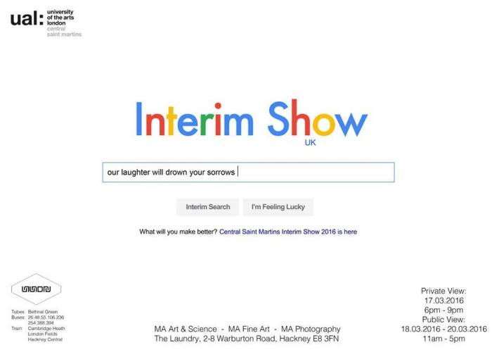 CSM Interim Show Invite